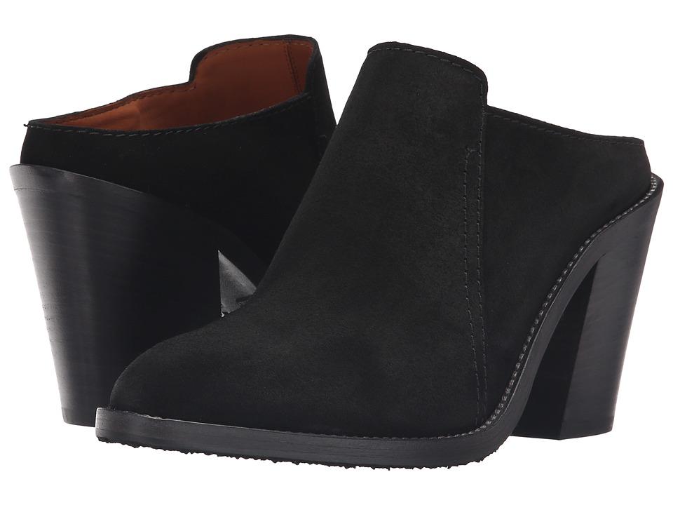 Aquatalia - Libby (Black Brush Oil Suede) Women's Shoes