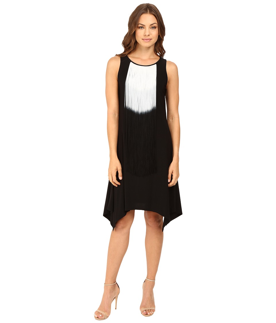 rsvp - Kaetlyn Fringe Dress (Black) Women's Dress