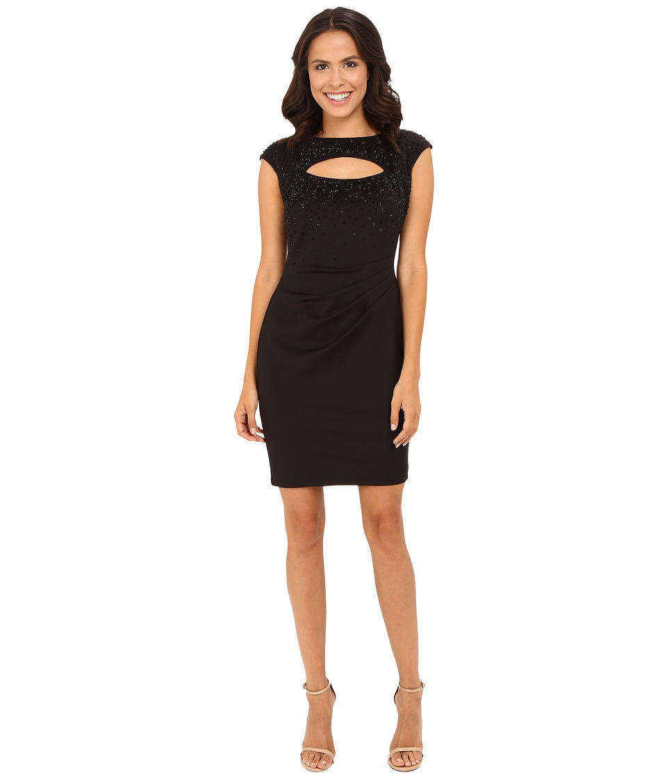 rsvp Colean Dress w/ Beading (Black) Women