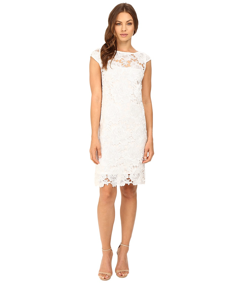 rsvp - Cecily Sheath Dress (White) Women's Dress