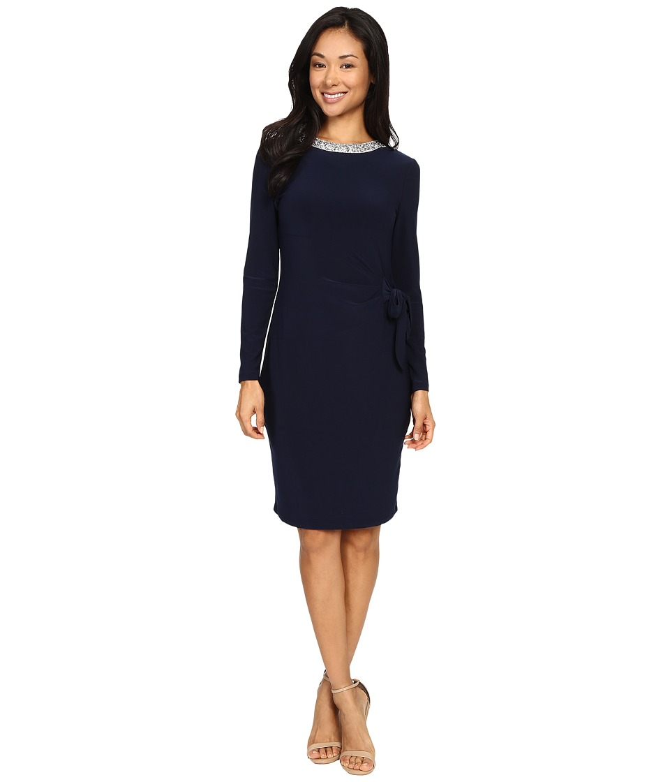 rsvp - Ciarra Tie Dress (Navy) Women's Dress