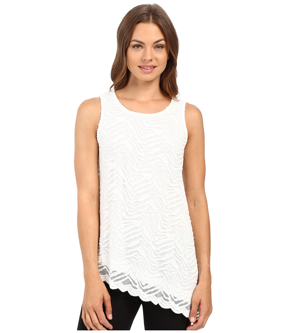 rsvp - Caleigh Sleeveless Lace Top (Ivory) Women's Sleeveless