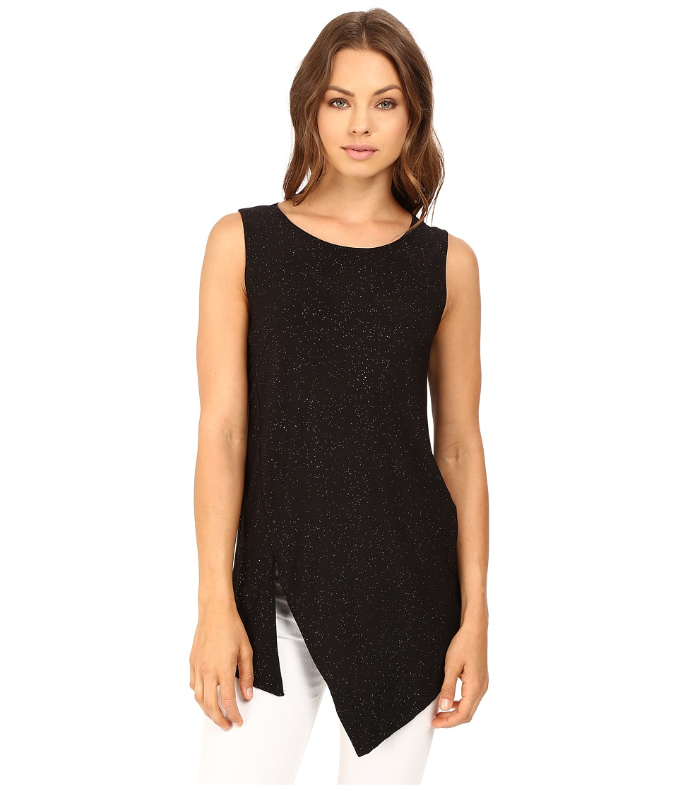rsvp - Aileen Asymmetrical Top (Black) Women's Clothing