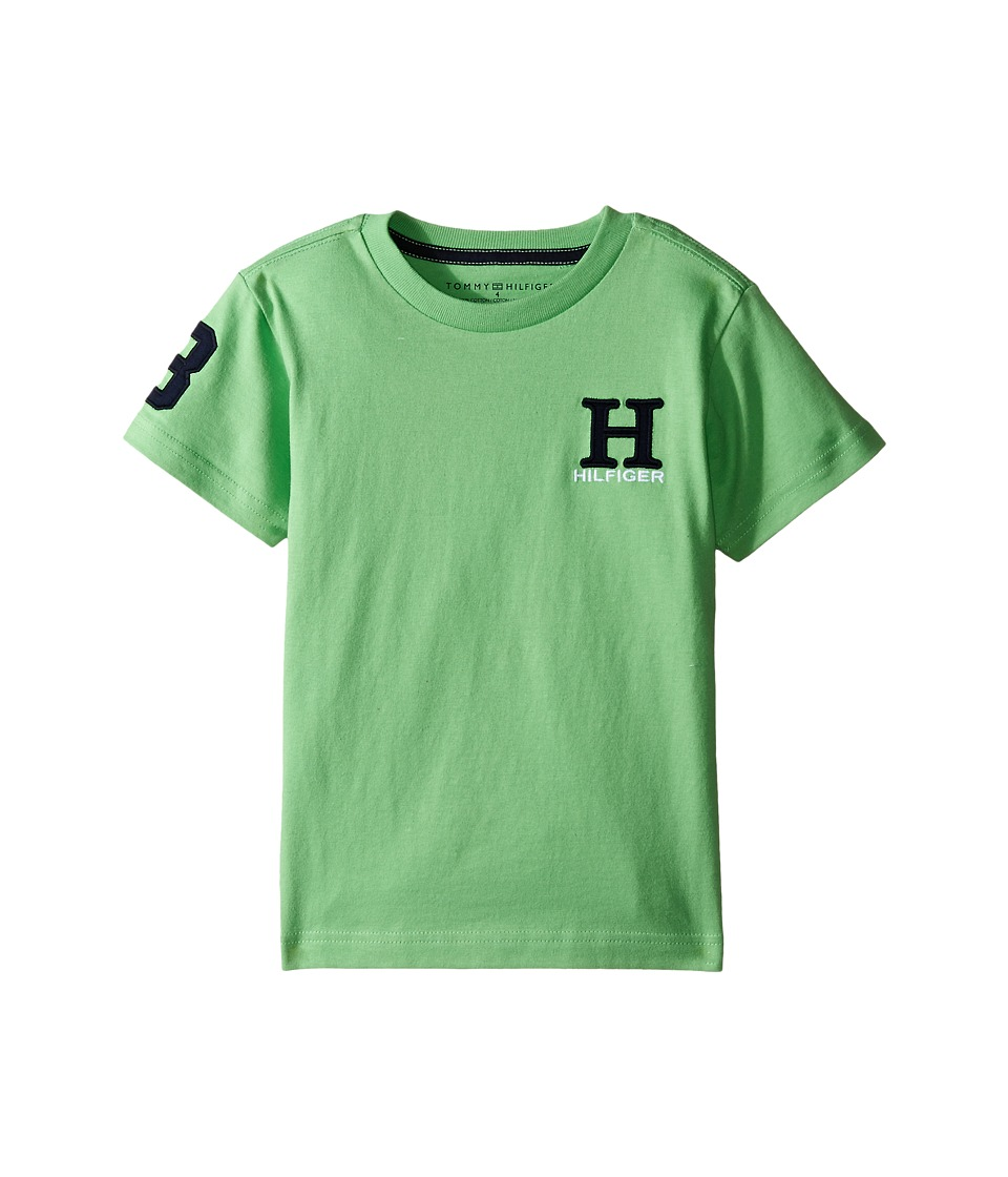 Tommy Hilfiger Kids - Matt Tee (Toddler/Little Kids) (Go Green) Boy's T Shirt