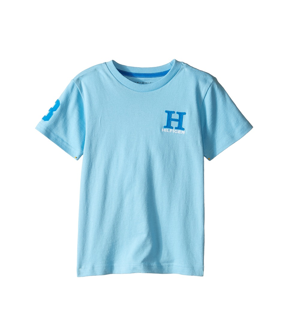 Tommy Hilfiger Kids - Matt Tee (Toddler/Little Kids) (Zen Blue) Boy's T Shirt