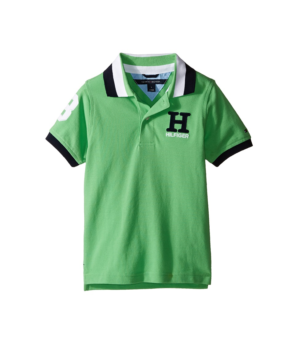 Tommy Hilfiger Kids - Matt Polo (Toddler/Little Kids) (Go Green) Boy's Clothing