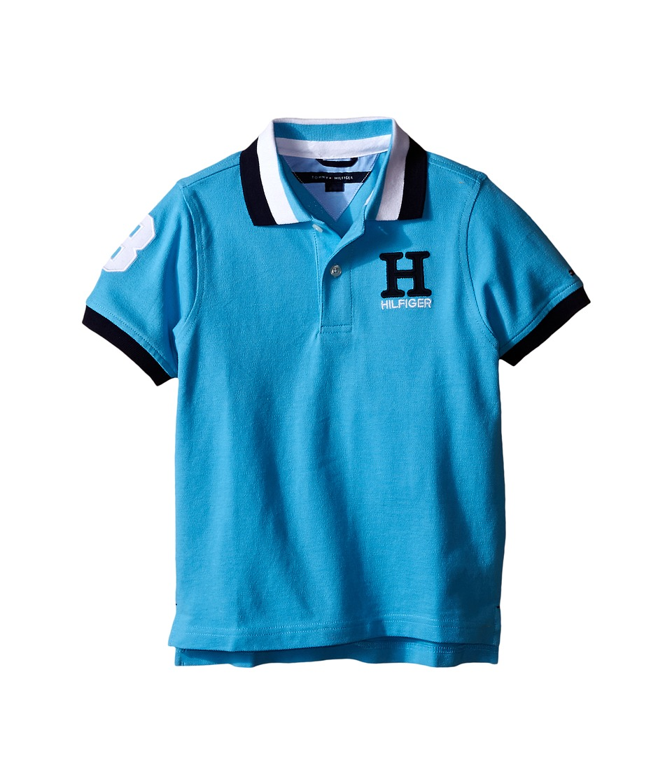 Tommy Hilfiger Kids - Matt Polo (Toddler/Little Kids) (Zen Blue) Boy's Clothing