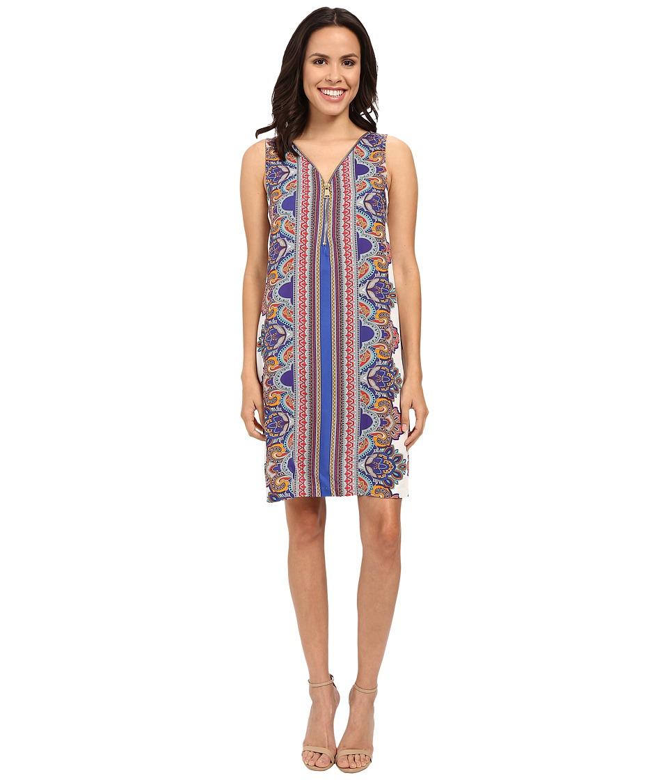 Christin Michaels - Neiv Dress (Blue) Women's Dress