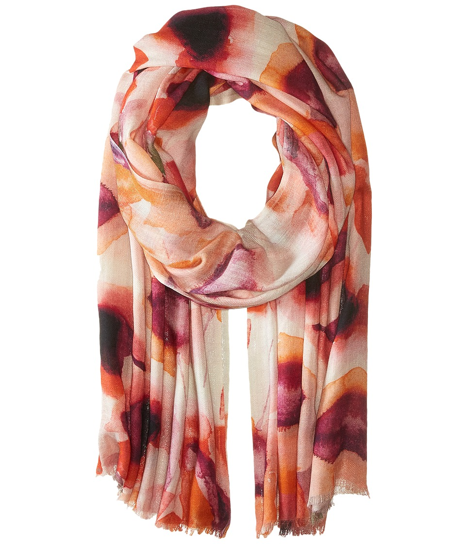 Bindya - Lilly Cashmere/Silk Wrap (Red) Scarves
