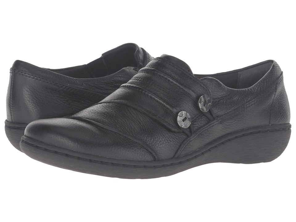 Clarks - Fianna Still (Black) Women's Shoes