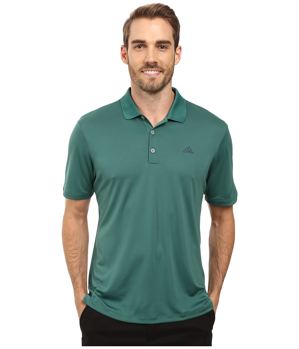 adidas Golf - Branded Performance Polo (Tech Forest) Men's Short Sleeve Pullover