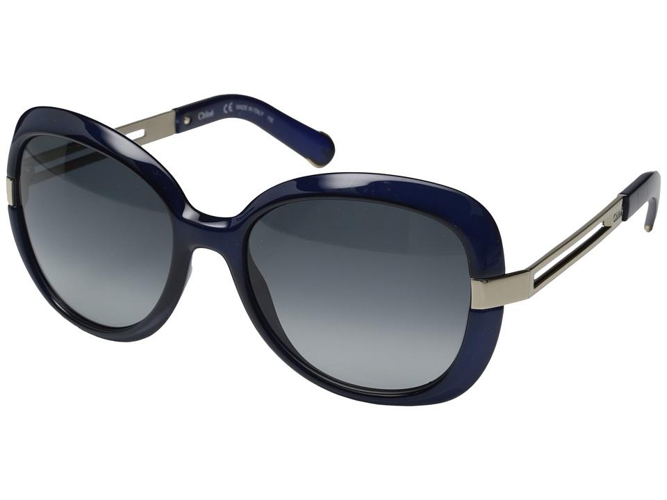 Chloe - Bianca - CE706SL (Blue) Fashion Sunglasses