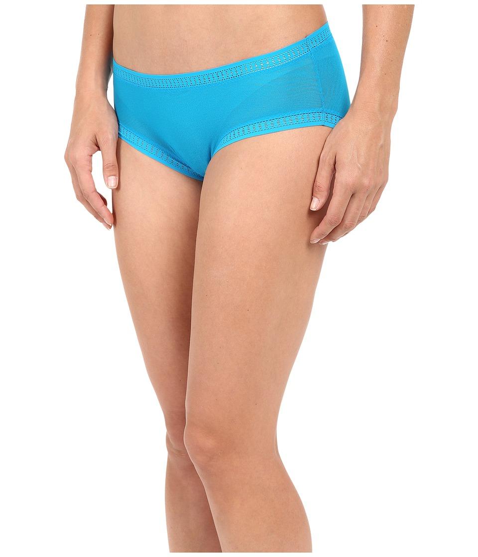 OnGossamer - Gossamer Mesh Boyshort (Deep Teal) Women's Underwear