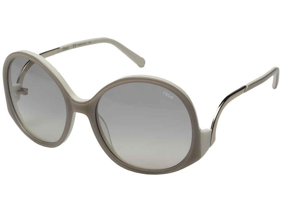 Chloe - Emilia - CE707SL (Turtledove/Cream) Fashion Sunglasses