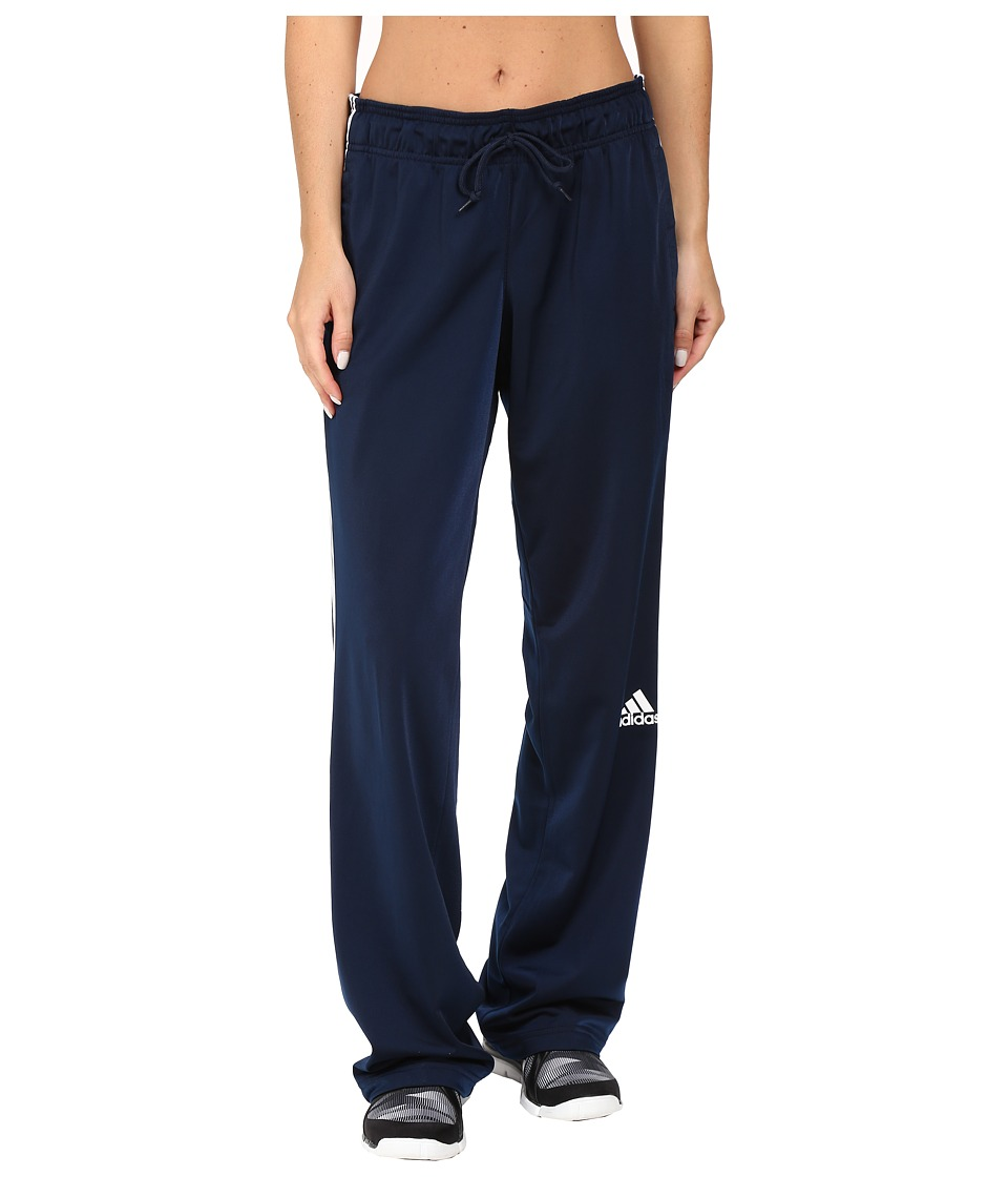 adidas - 3-Stripes Pant (Collegiate Navy/White) Women's Workout