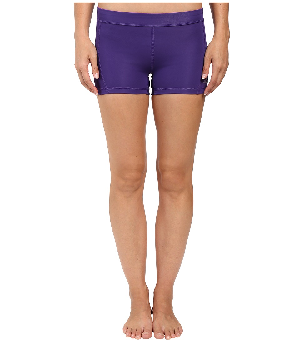 adidas - Techfit 3 Short Tights (Unity Purple/Matte Silver) Women's Casual Pants