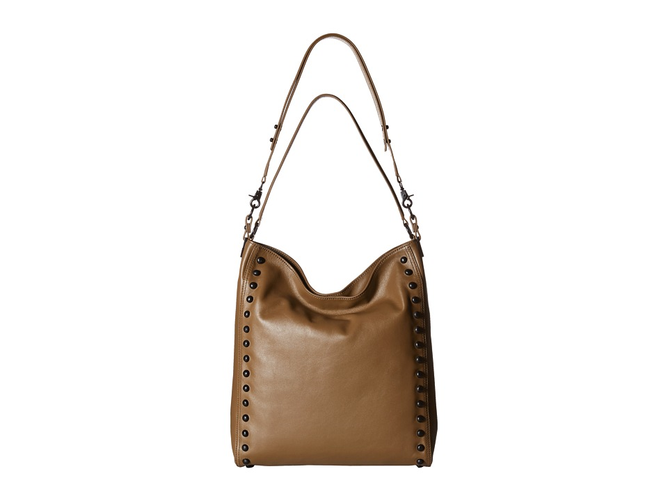 Loeffler Randall - Hobo (Olive Nappa/Black Studs) Hobo Handbags