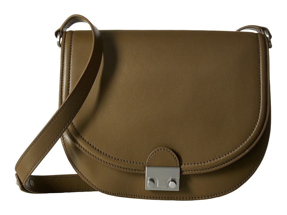 Loeffler Randall - Large Saddle (Olive Nappa) Handbags