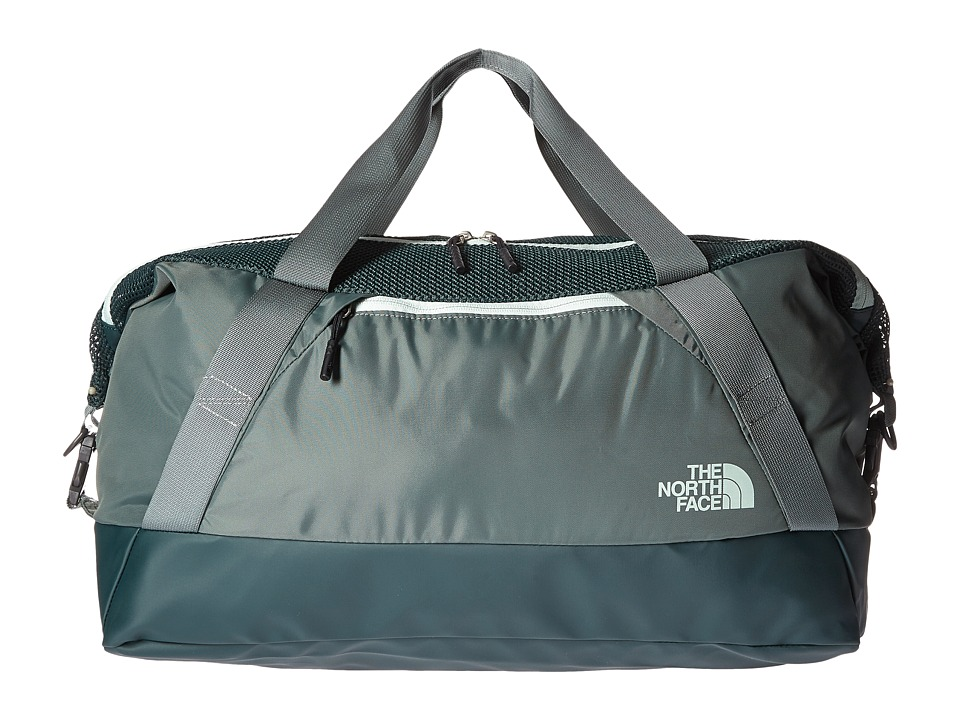 The North Face - Apex Gym Duffel Bag - Medium (Subtle Green/Balsam Green) Duffel Bags