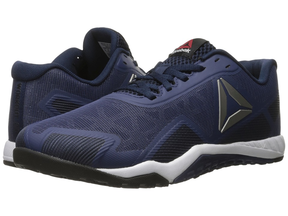 Reebok - ROS Workout TR 2.0 (Blue Ink/Collegiate Navy/Pewter/White/Black/Hero Yellow) Men's Cross Training Shoes