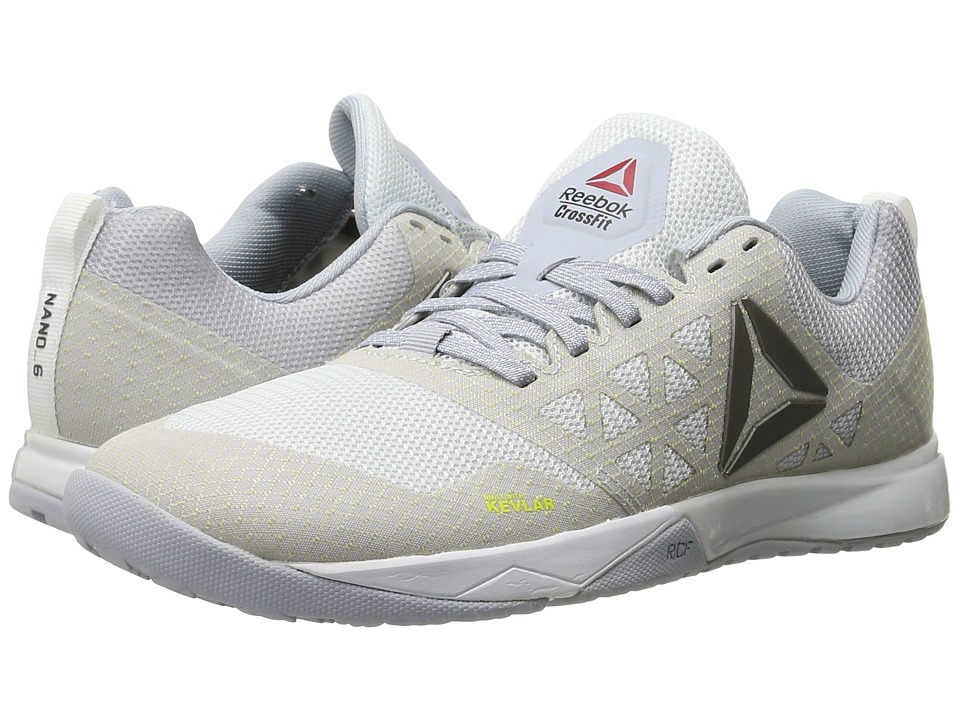 Reebok - Crossfit Nano 6.0 (Polar Blue/Cloud Grey/White/Black/Pewter) Women's Cross Training Shoes