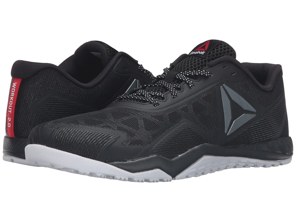 Reebok - ROS Workout TR 2.0 (Stealth Black/Coal/White/Riot Red) Men's Cross Training Shoes