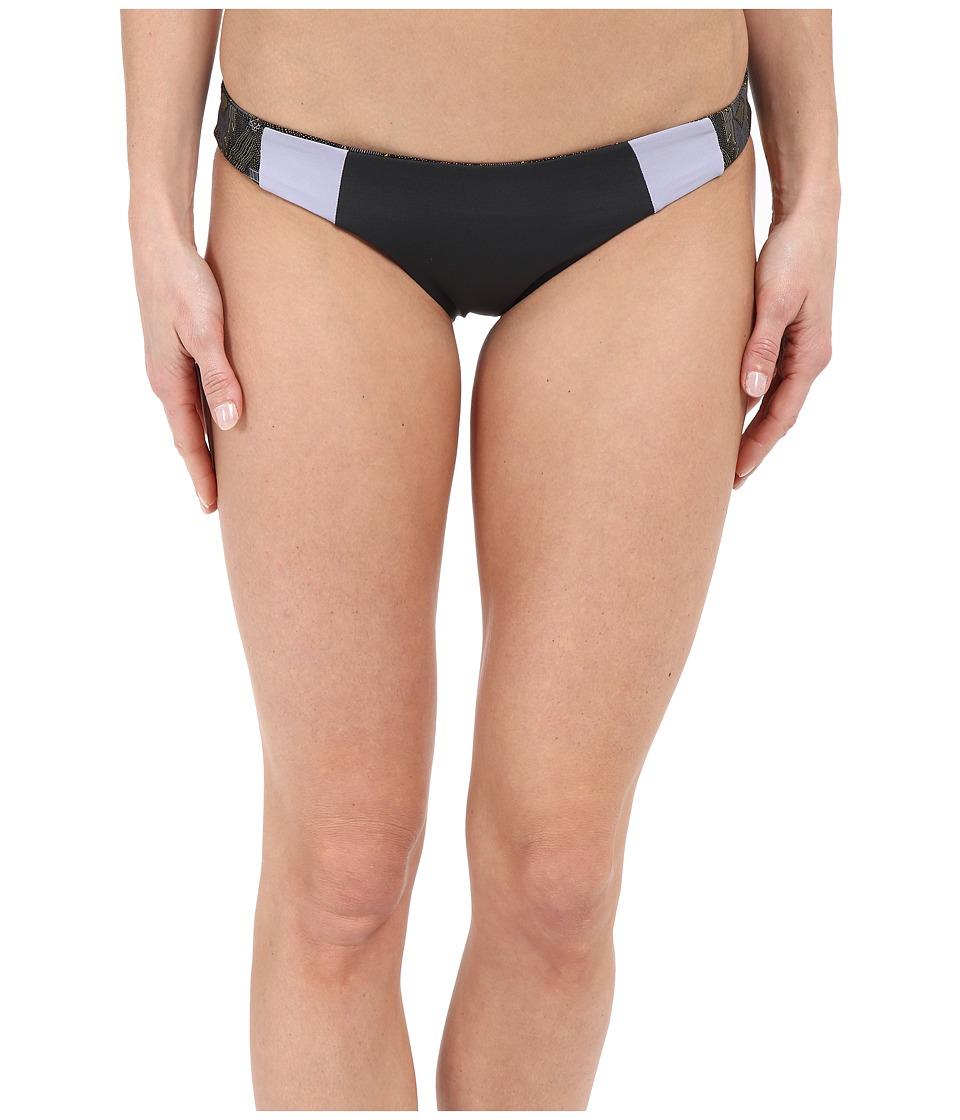L*Space - Mia Classic Bottom (Charcoal) Women's Swimwear