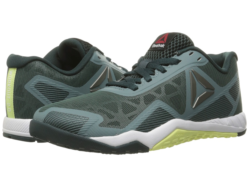 Reebok - ROS Workout TR 2.0 (Teal Dust/Forest Grey/Lemon Zest/Black) Women's Cross Training Shoes