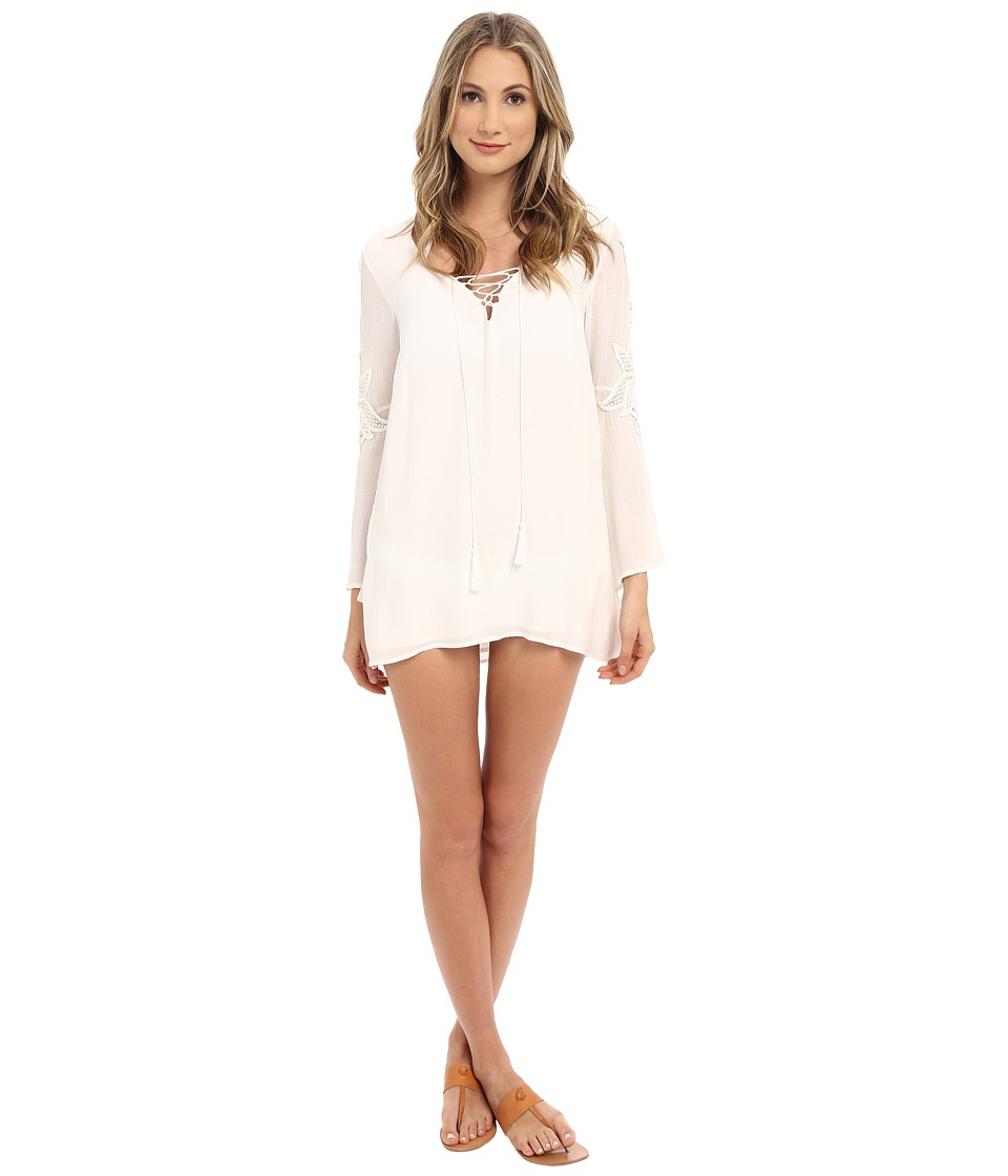 L*Space - Island Gypsy Tunic Cover-Up (Ivory) Women's Swimwear