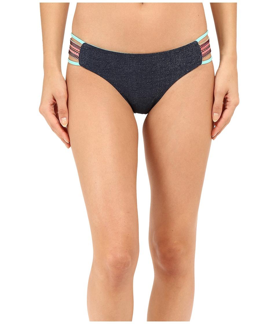 L*Space - Native Classic Bottom (Antique Denim) Women's Swimwear