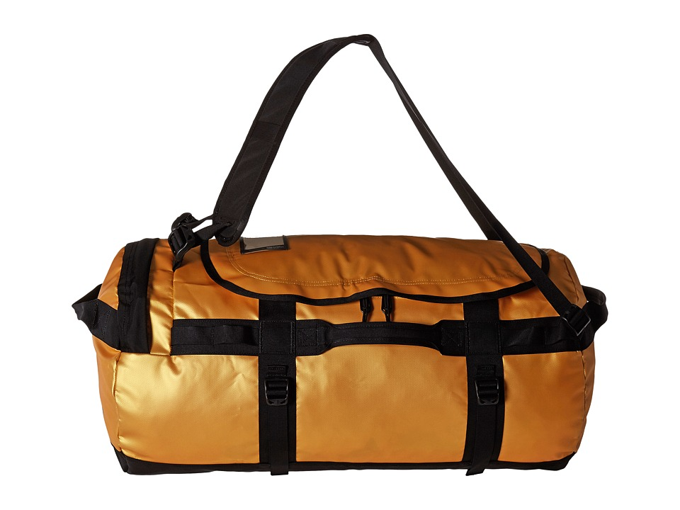 The North Face - Base Camp Duffel - Medium (24k Gold/TNF Black) Duffel Bags