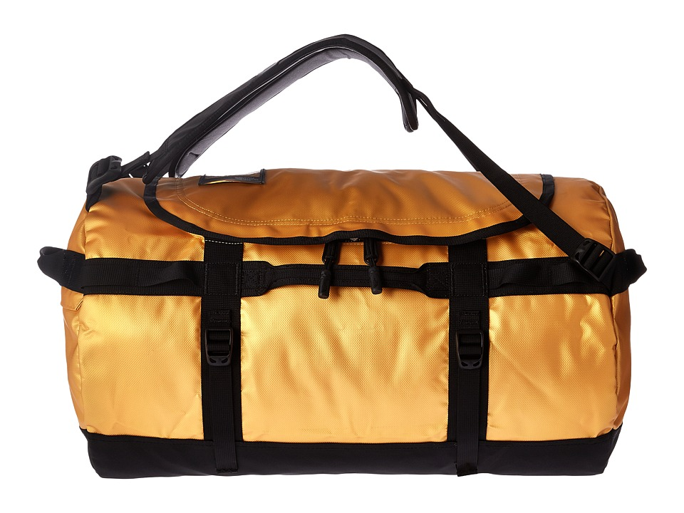 The North Face - Base Camp Duffel - Small (24k Gold/TNF Black) Duffel Bags