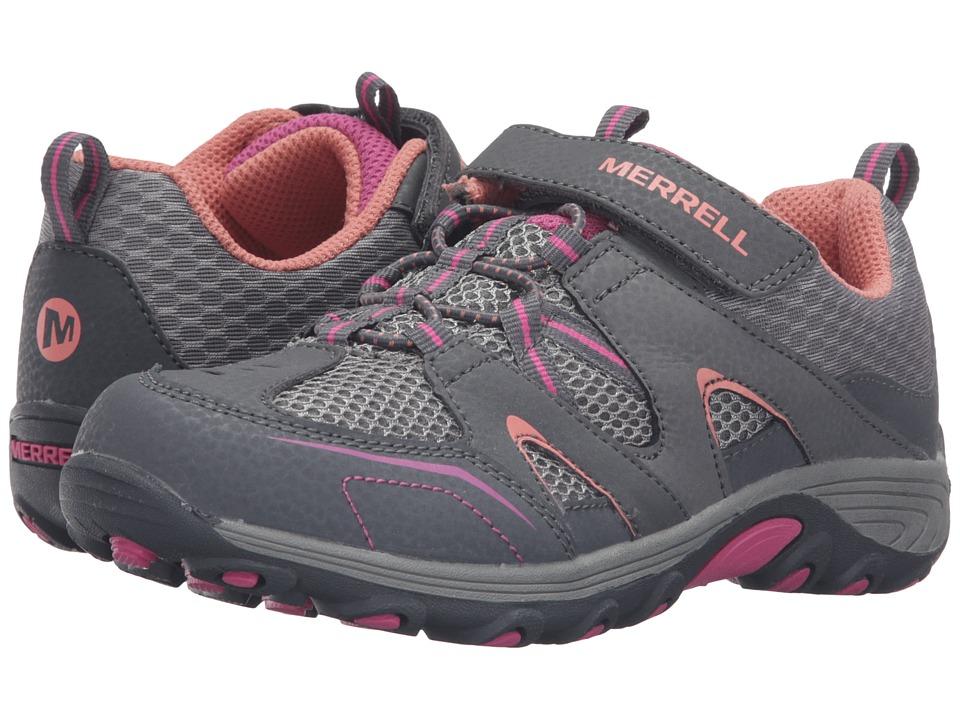 Merrell Kids Trail Chaser (Little Kid) (Multi Suede/Mesh) Girls Shoes