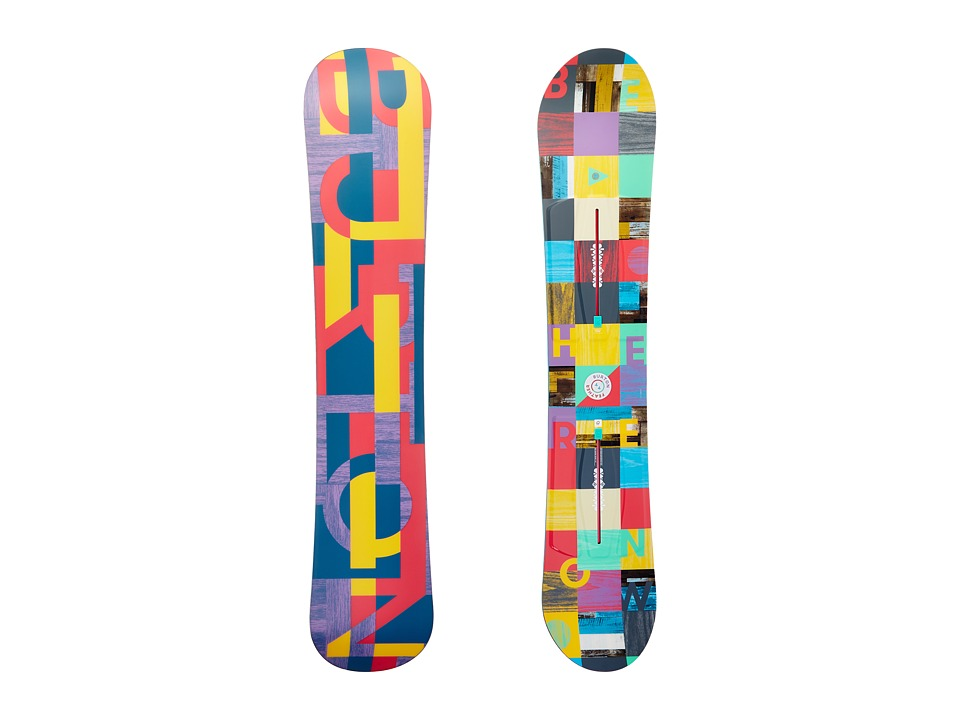 Burton - Feather '17 144 (Multi) Snowboards Sports Equipment
