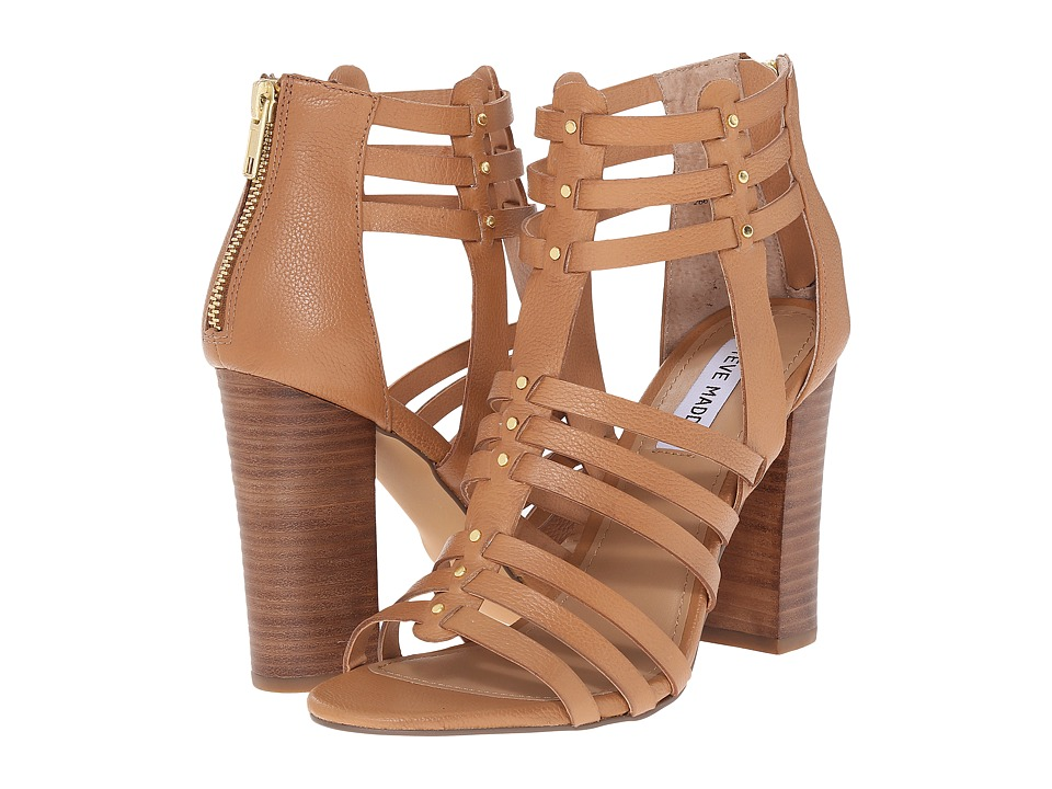 Steve Madden - Sofiia (Natural Leather) Women's 1-2 inch heel Shoes
