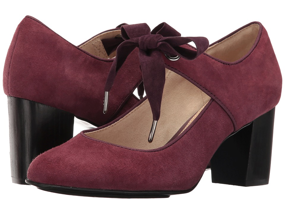 Hush Puppies Margot Langdon (Wine Suede) Women