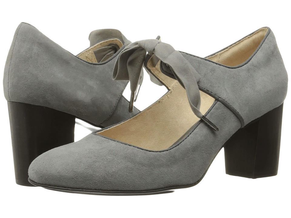 Hush Puppies Margot Langdon (Smoke Suede) Women