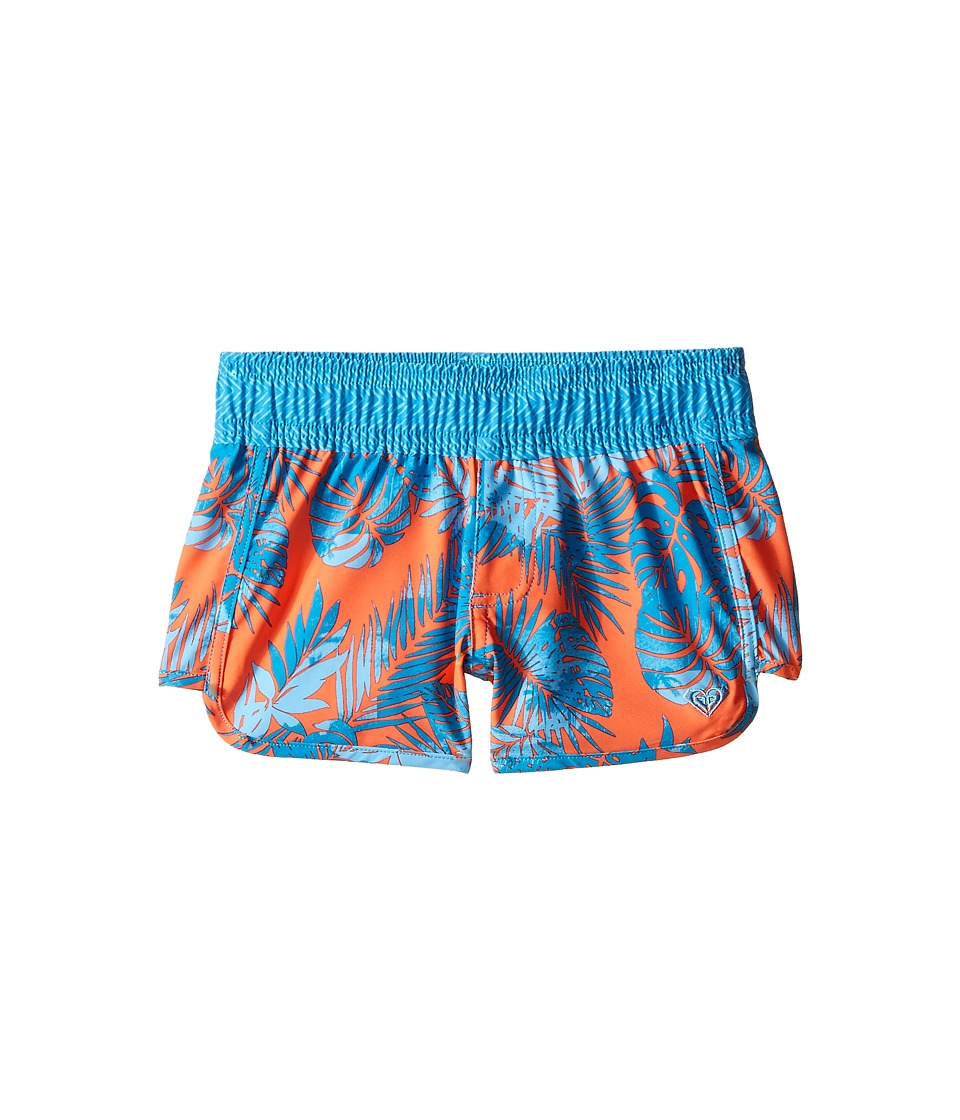 Roxy Kids - Primal Palms Boardshorts (Big Kids) (Cayenne) Girl's Swimwear