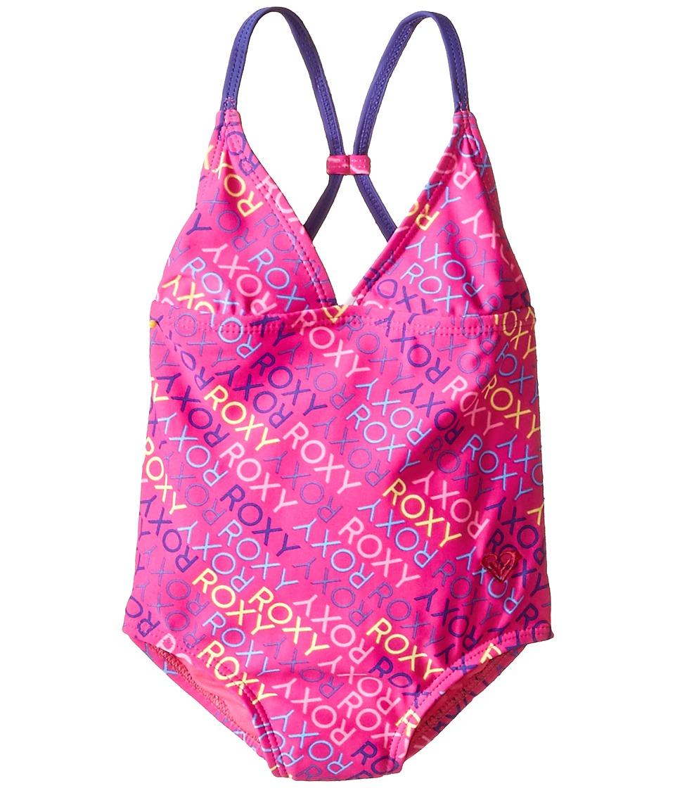 Roxy Kids - Roxy Ready One-Piece (Big Kids) (Camellia Rose) Girl's Swimsuits One Piece