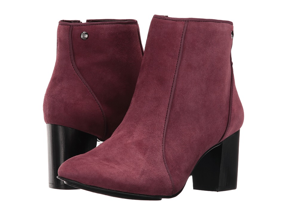 Hush Puppies Melodi Langdon (Wine Suede) Women