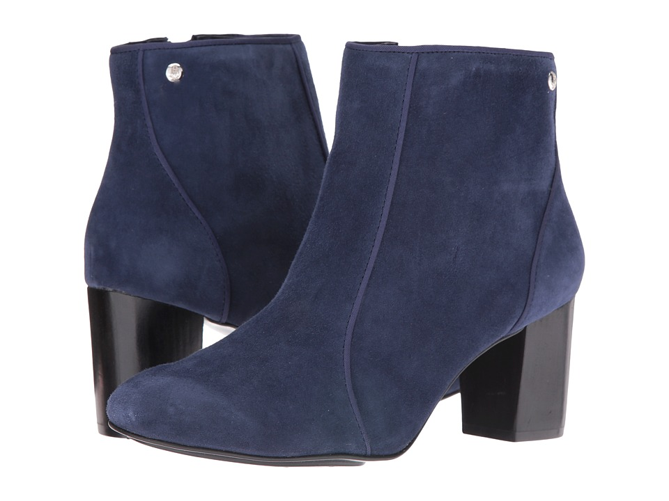 Hush Puppies Melodi Langdon (Navy Suede) Women