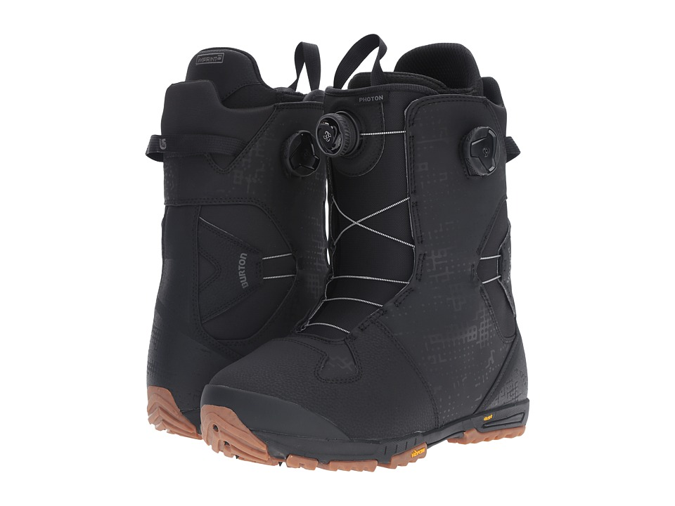 Burton - Photon Boa '17 (Black/Gum) Men's Cold Weather Boots