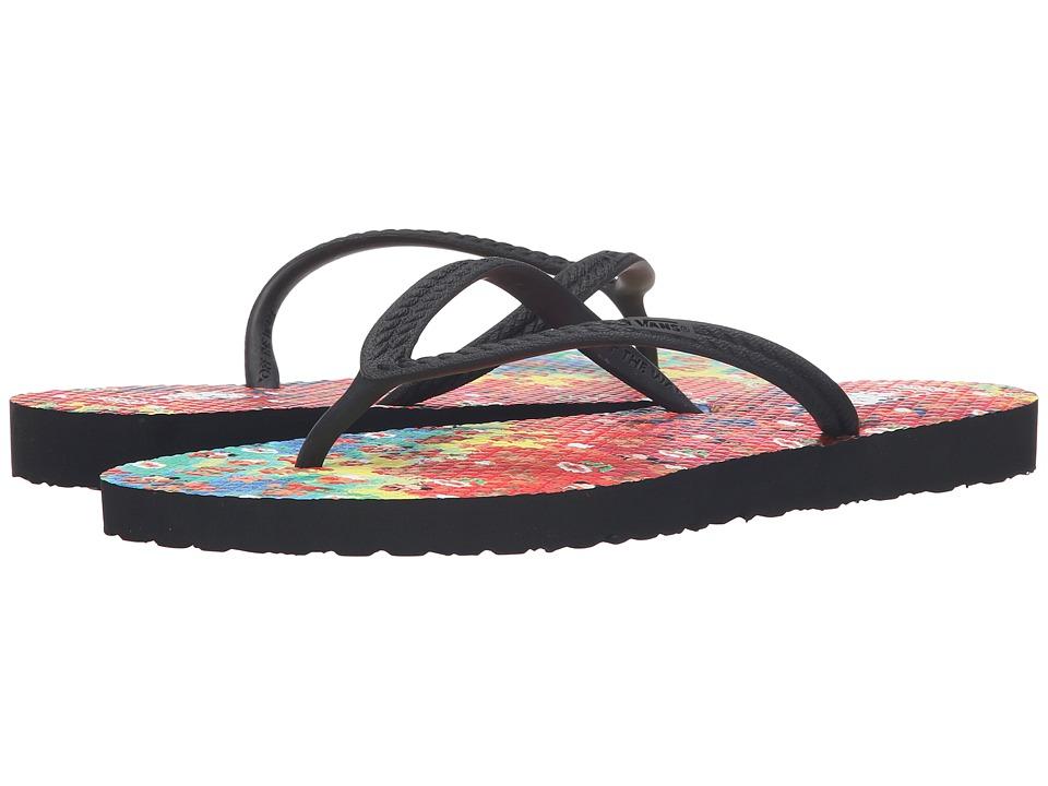Vans - Hanelei ((Nintendo) Tie-Dye Mario) Women's Sandals