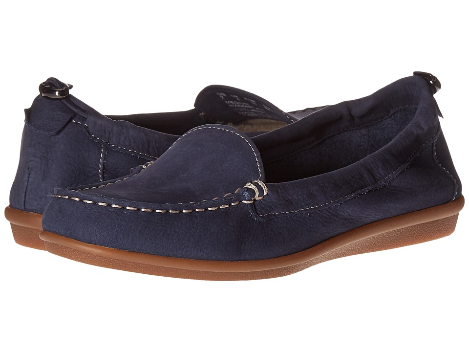 Hush Puppies Endless Wink (Navy Nubuck) Women