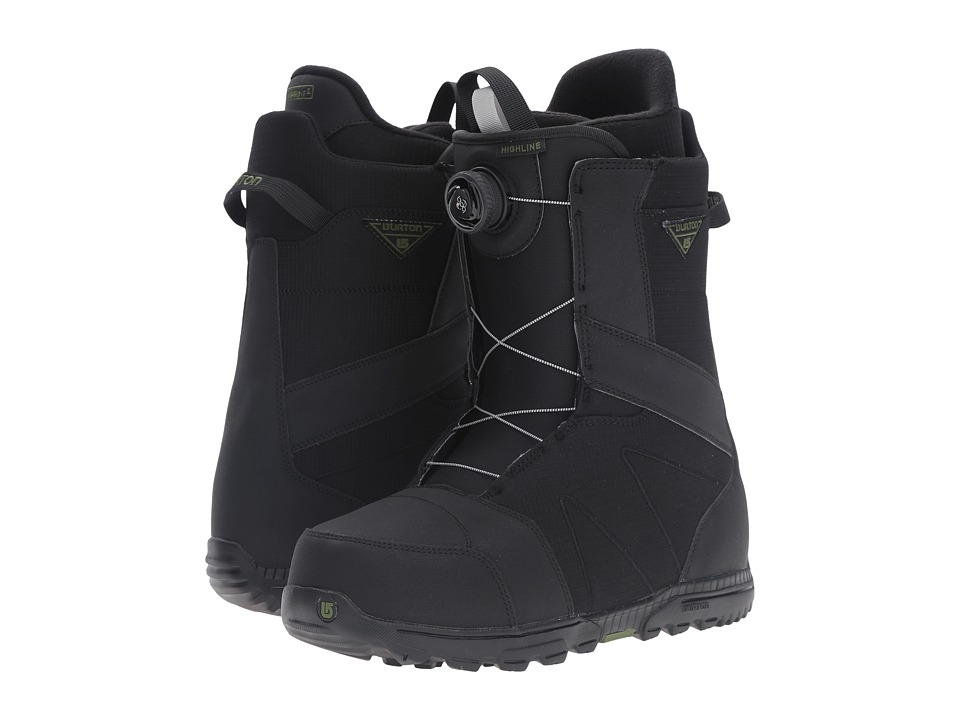 Burton - Highline Boa '17 (Black) Men's Cold Weather Boots