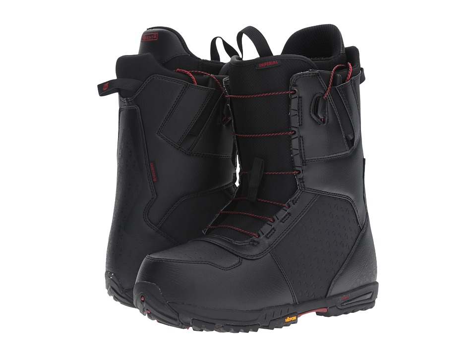Burton - Imperial '17 (Black/Red) Men's Cold Weather Boots