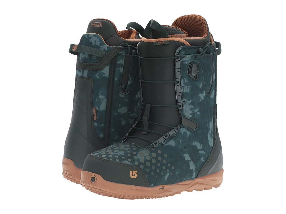 Burton - Ambush '17 (Green/Camo) Men's Cold Weather Boots