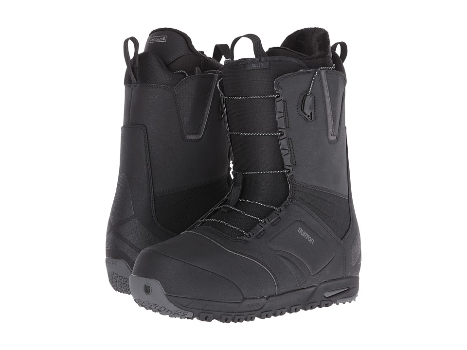 Burton - Ruler '17 (Black) Men's Cold Weather Boots