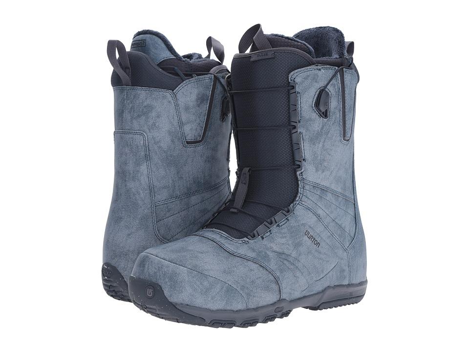 Burton - Ruler '17 (Denim) Men's Cold Weather Boots