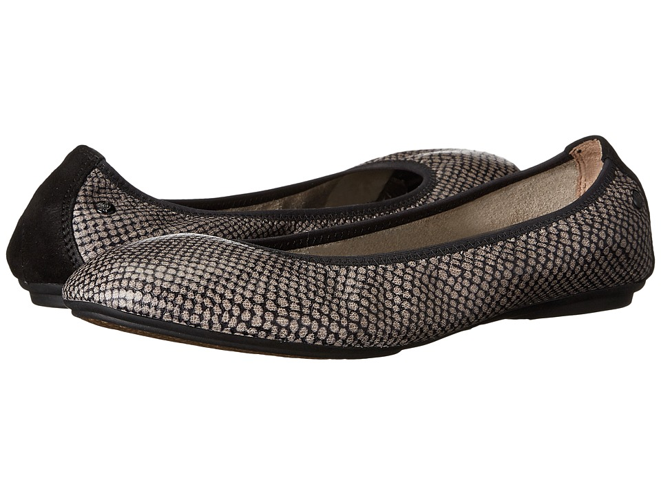 Hush Puppies - Chaste Ballet (Taupe Multi Leather) Women's Flat Shoes